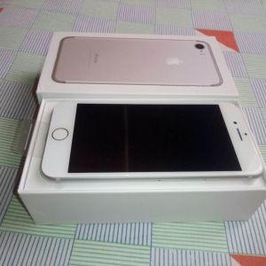 Iphone 7 Silver Original (32GB) Καινούργιο Εκθεσιακό 9 Μήνες εγγύηση με υγεία μπαταρίας 100%