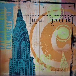 πινακας NEW YORK (Joerg Doerning)