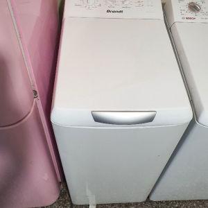 πλυντήριο ρούχων άνω φόρτωση brandt 7 kg, σε άριστη κατάσταση με 4 μήνες γραπτή εγγύηση