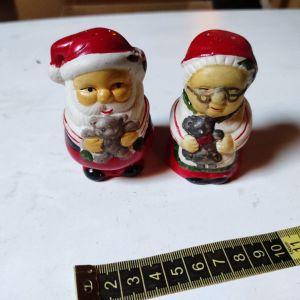 Σετ αλατοπίπερο Mr & Mrs Santa