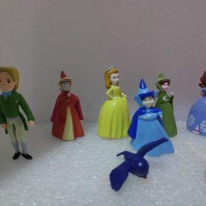 12 Γνησιες Φιγουρες Πριγκηπισσες Disney