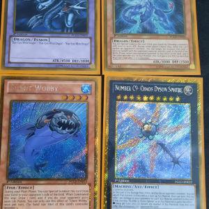 Yugioh Όλες οι κάρτες μαζι πακετο