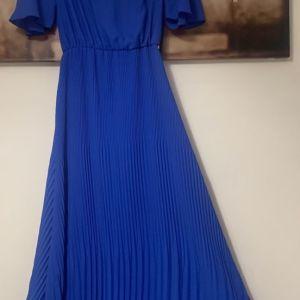 Bsb φόρεμα μακρύ μπλέ ολοκαίνουργιο με καρτελάκι