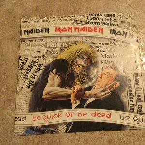 IRON MAIDEN - Be quick or be dead (45)