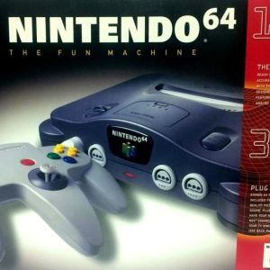 Nintendo 64 Console (Boxed) [PAL]