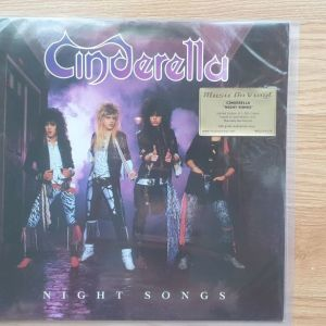 Cinderella - Night Songs Limited Numbered, Purple & Gold Mixed Music On Vinyl NEW!