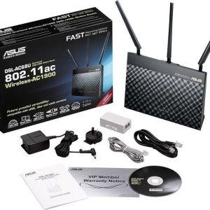 Asus DSL-AC68u ADSL/VDSL Modem/Router +AiMesh
