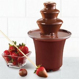 Συντριβάνι σοκολάτας για φοντύ