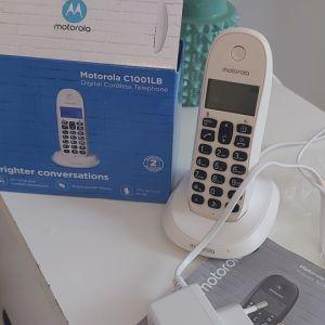 Ασύρματο τηλέφωνο MOTOROLA ΣΤΗΝ ΣΥΣΚΕΥΑΣΊΑ ΤΟΥ! Λειτουργικότητο. Διαβάστε τ αγγελία κατω!