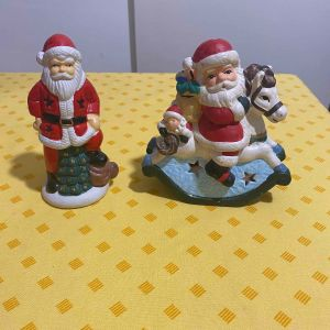 Vintage χριστουγεννιάτικα κεραμικά ρεσώ