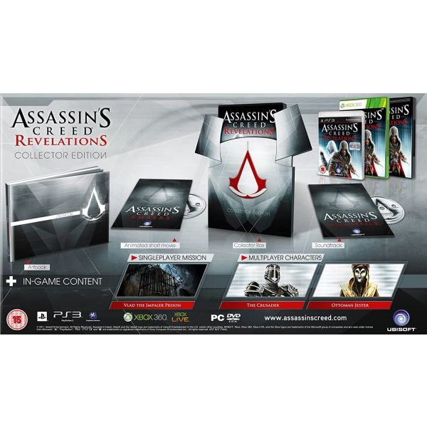 Assassin's Creed Revelations - Collectors Edition gia PS3