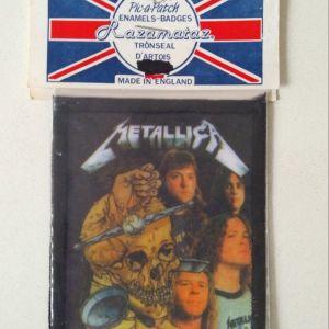 Metallica  Ραφτό Σήμα Εποχής '90
