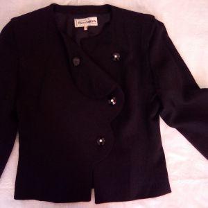 Vintage Pierre Cardin μαύρο σακάκι.