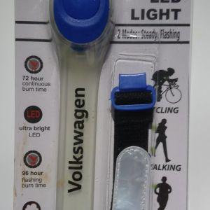 Night Runing Safety LED Light Lamp φώτα μπαταρίας