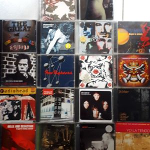 ALTERNATIVE ROCK CDs - 10,00 ευρω