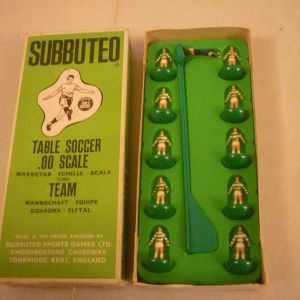 Celtic Zombie ομάδα Subbuteo χωρίς reference στο κουτί
