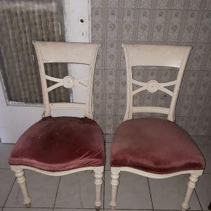 2 καρέκλες  vintage  chair