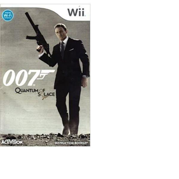 007 quantum of solace wii