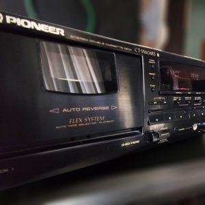 ΚΑΣΕΤΟΦΩΝΟ ΔΙΠΛΟ AUTOREVERSE PIONEER CT-W604RS