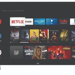 ΤΗΛΕΟΡΑΣΗ - SMART LED TV - HD READY -  ΜΑΡΚΑ F&U - MOD. FLA3220, ΜΑΥΡΗ - 32''