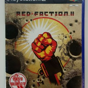 RED FACTION 2 PS2 PLAYSTATION 2 TWO VIDEO GAME EUROPEAN PAL