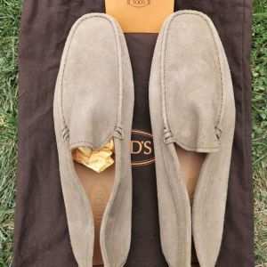 TODS Creme Leather Shoes No.11