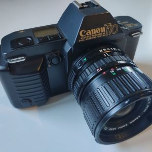 CANON T70 με φακό canon nfd 35-70mm f3.5-4.5