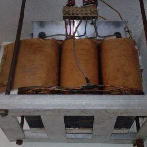 Mετασχηματιστης 1-1  4-5kva για φώτα κήπου 220/220  , 380/380 3φ