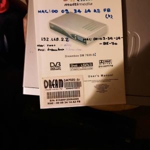 DREAMBOX 7020SI Original SAT - ΔΟΡΥΦΟΡΙΚΟΣ ΔΕΚΤΗΣ