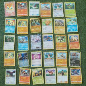 30 κάρτες Pokemon