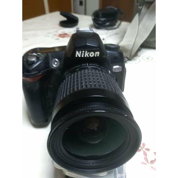 Nikon D70 epangelmatiki fot/ki michani Nikon