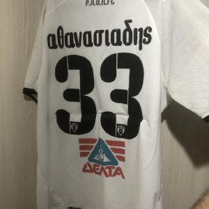 φανελα PAOK matchworn (Αθανασιαδης)