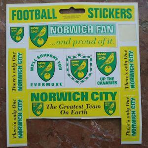 Αυτοκόλλητα Norwich