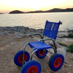 Αναπηρικο αμαξιδιο Θαλάσσης posidon 3