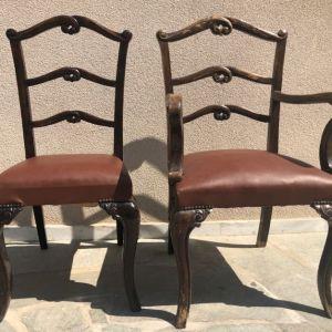 Αντίκες Ξύλινες καρέκλες
