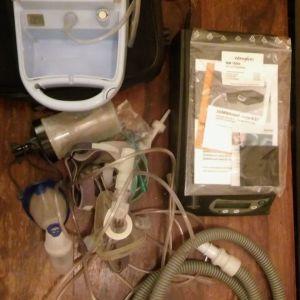 BiPAP Αυτόματο Weinmann SOMNOVENT AUTO-S & Flaem Delphinus Nebulizer System