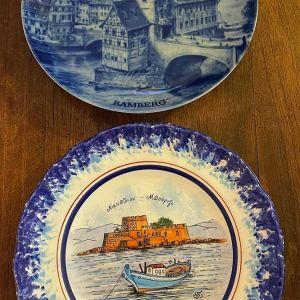 Επιτοίχια Διακοσμητικά Πιάτα Συλλογής