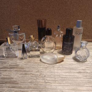 άδεια μπουκάλια αρωματων