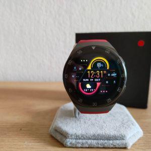 Smartwatch καινούργιo με οθόνη πλήρους αφής ,custom watchfaces, ένδειξη καιρού και έλεγχο μουσικής