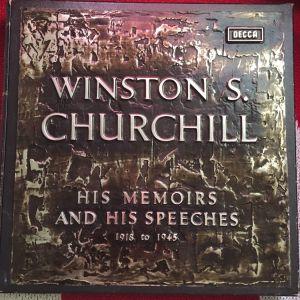 ΣΠΑΝΙΟ WINSTON Churchill Vinyl Box