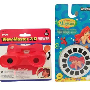 Vintage TYCO 3-D View Master Viewer & The Little Mermaid 3 Reels Pack
