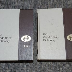 THE WORLD BOOK DICTIONARY 1975 EDITION ( 2 ΤΟΜΟΙ )