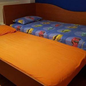 Κρεβάτι διπλό με 2 στρώματα