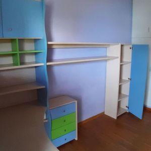 Σύνθεση γραφείου για παιδικό - εφηβικό δωμάτιο