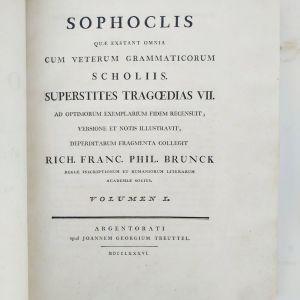 Σοφοκλή Άπαντα 1786