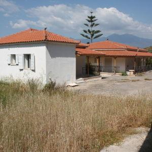 Villa 180m2 on 6000m2 land at Itea Greece
