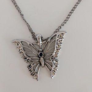 Κολιέ πεταλούδα