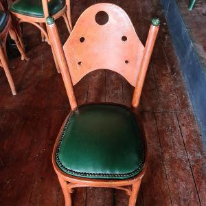 96 καρέκλες ξύλινες