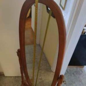 Καθρέπτης δαπέδου ξύλινος