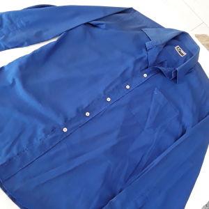 Πουκάμισο ΕΠΏΝΥΜΟ DUR, SIZE large,16,5-limited edition. Χρωμα μπλε ανοιχτό.